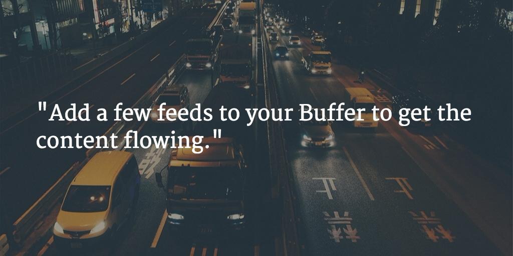 buffer feeds